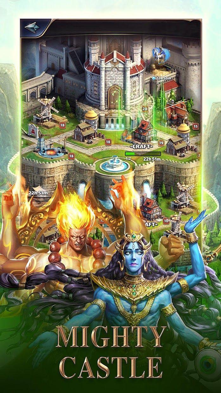 MythWars & Puzzles:RPG Match 3 游戏截图5