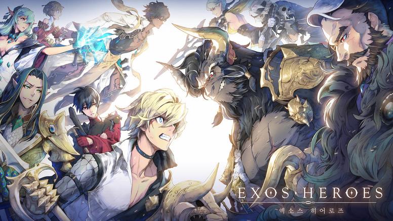 """被称为""""2019年RPG巅峰之作""""的《Exos Heroes》,画面真有那么炸裂吗"""
