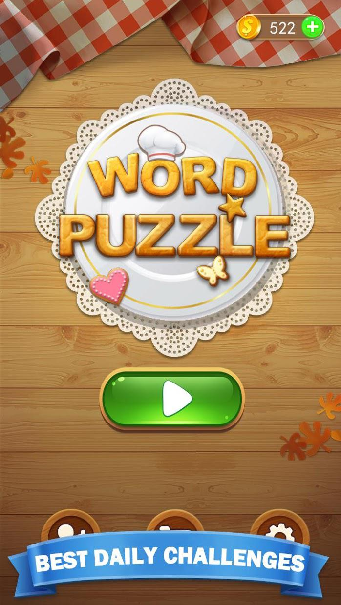 Word Search Puzzle 2020 : Word Search Game 游戏截图1