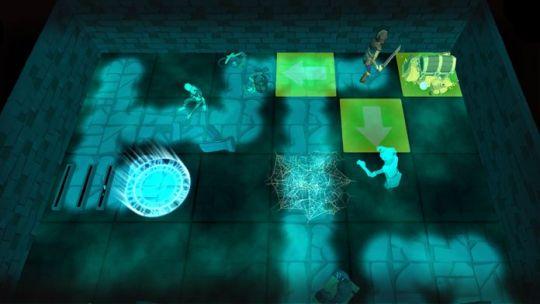 《进入地下城:战术》:风格魔幻,暗藏陷阱与鬼魂,每次闯关都不一样的夺宝游戏 图片2