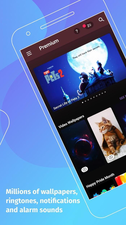 ZEDGE™ 铃声和壁纸 游戏截图2