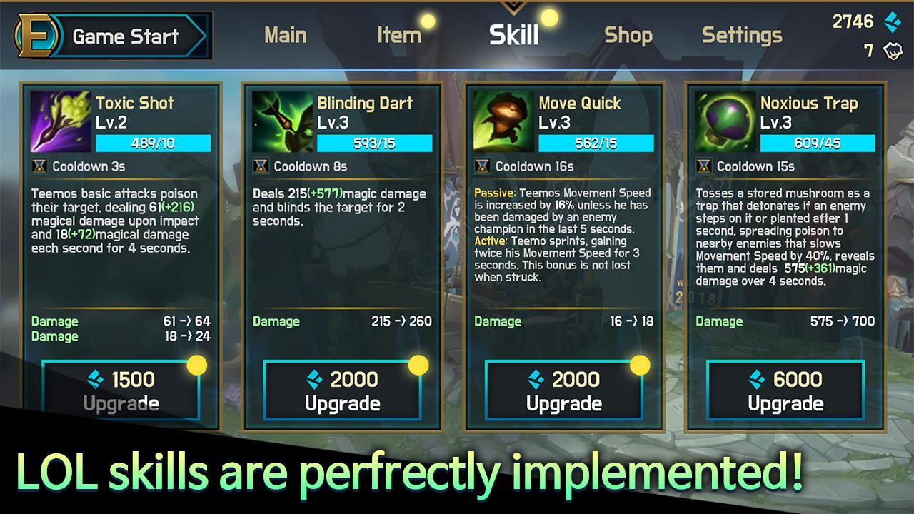 英雄决斗 (Ez Mirror Match2) : LOL Champions Battle 游戏截图2