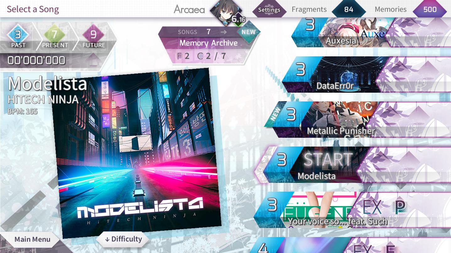 Arcaea – 创新立体节奏游戏 游戏截图3