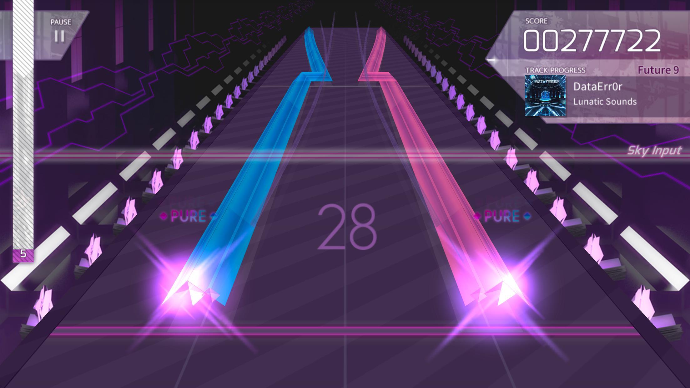 Arcaea – 创新立体节奏游戏 游戏截图5