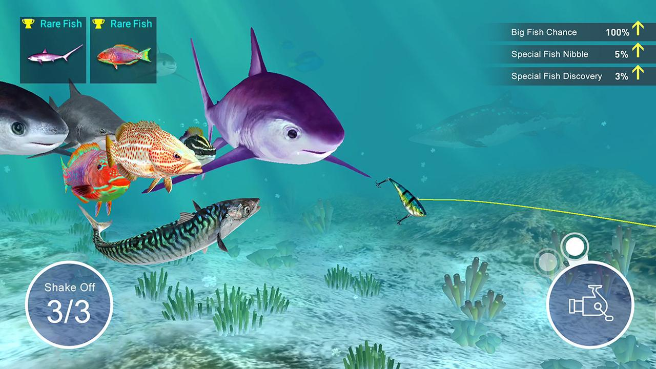 Fishing Strike: 钓鱼大亨 游戏截图5