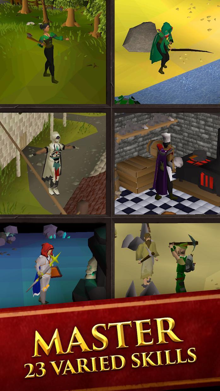 Old School RuneScape 游戏截图2