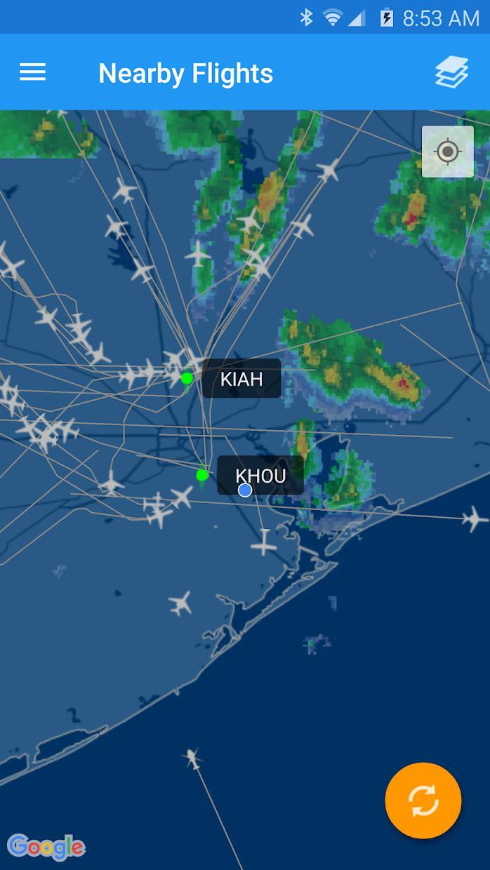FlightAware 航班跟踪 游戏截图1