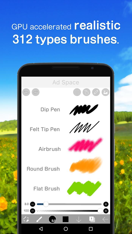爱笔思画 X(ibis Paint X) 游戏截图2