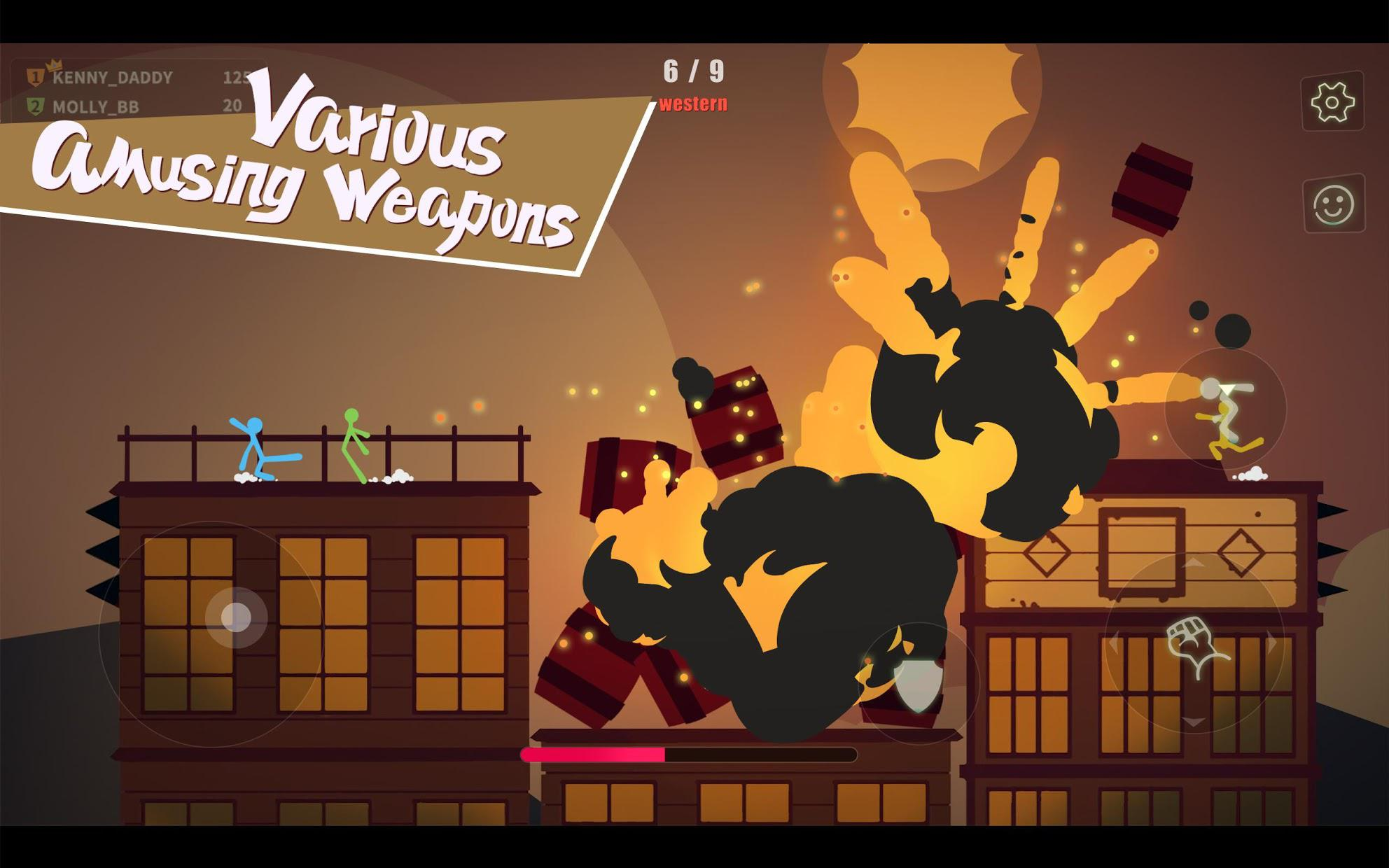 逗斗火柴人(Stick Fight: The Game Mobile) 游戏截图5