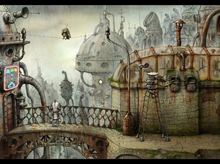 机械迷城 游戏截图1
