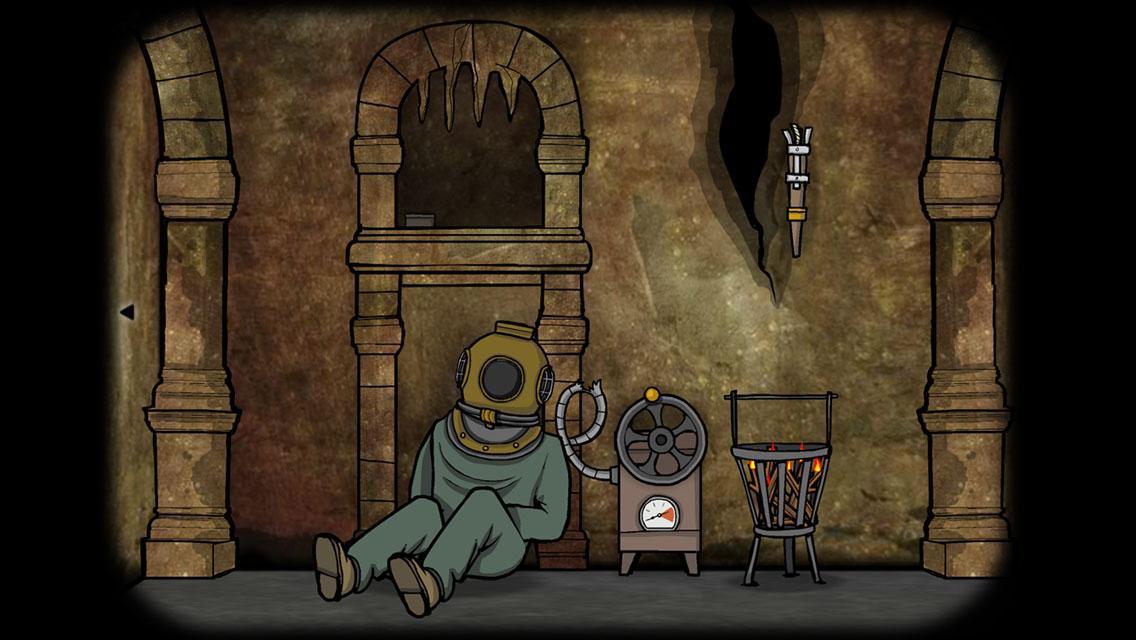 逃离方块:洞穴 游戏截图1