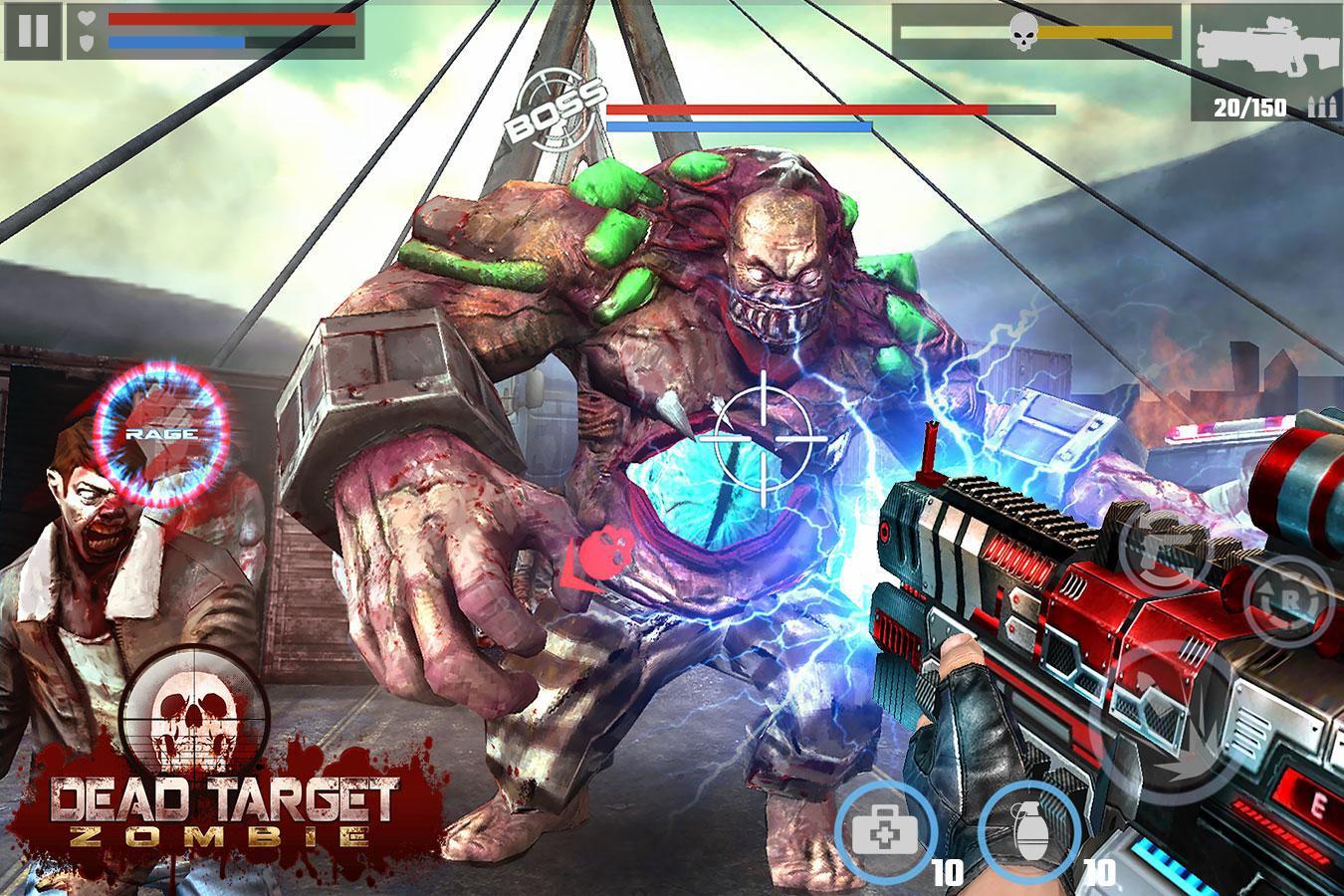 死目标:殭尸 游戏截图2