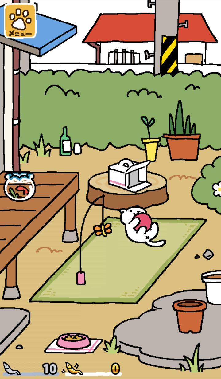 猫咪后院 游戏截图1