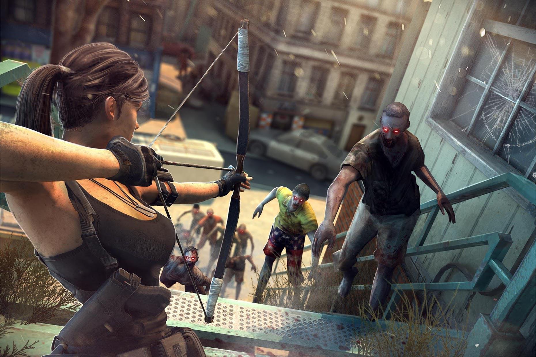 Zombie Frontier 3: Sniper FPS 游戏截图1