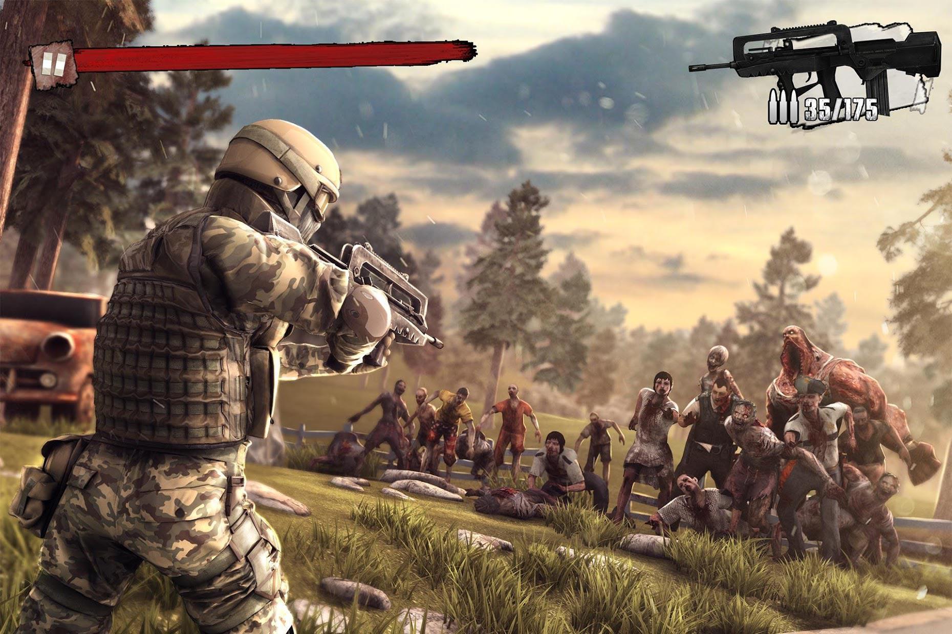 Zombie Frontier 3: Sniper FPS 游戏截图2