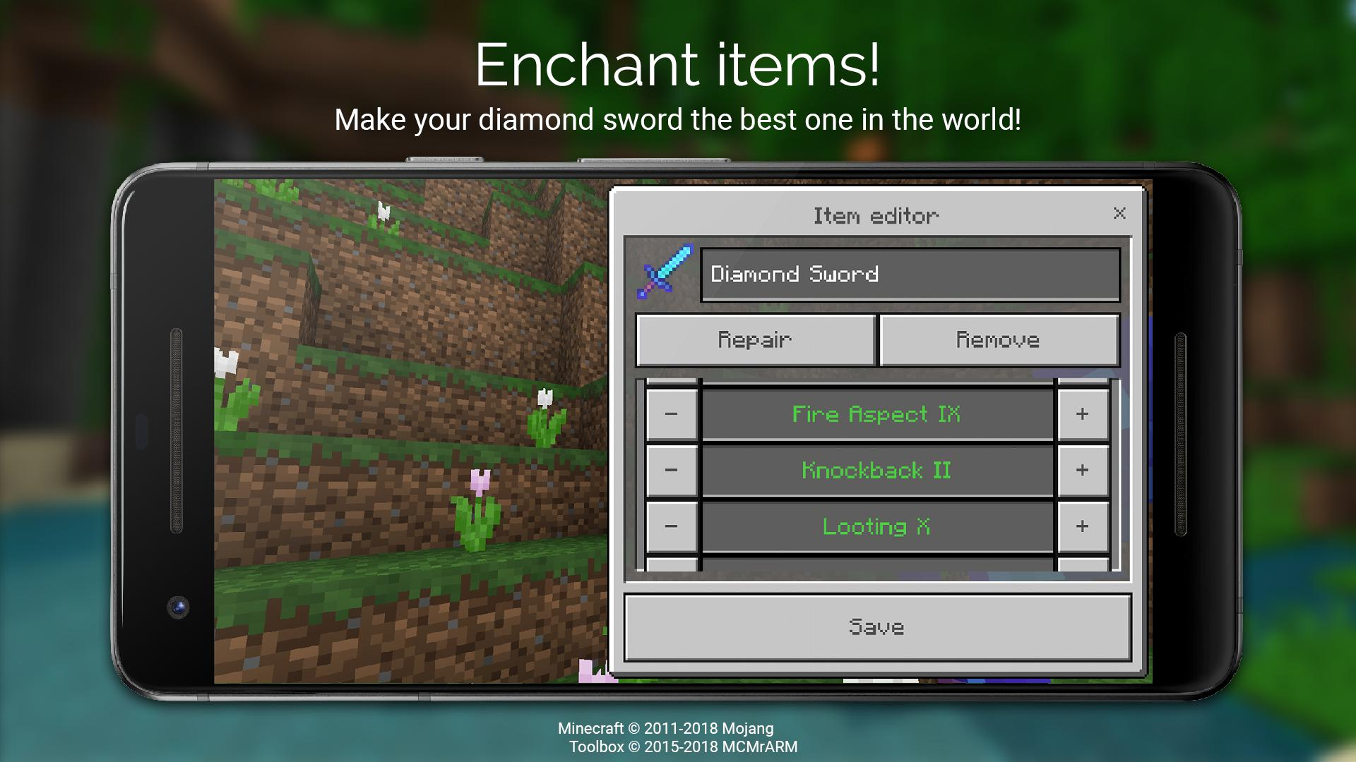 Toolbox for Minecraft: PE 游戏截图5