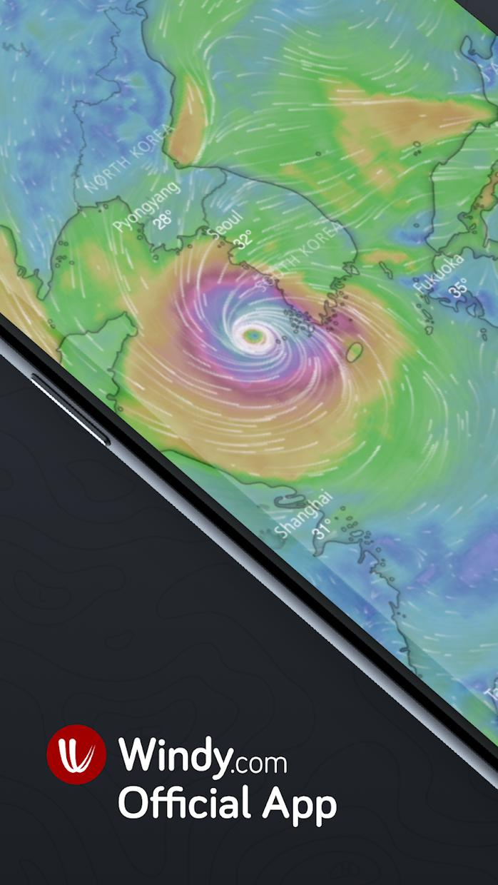 Windy.com - Wind, Waves and Hurricanes Forecast 游戏截图1