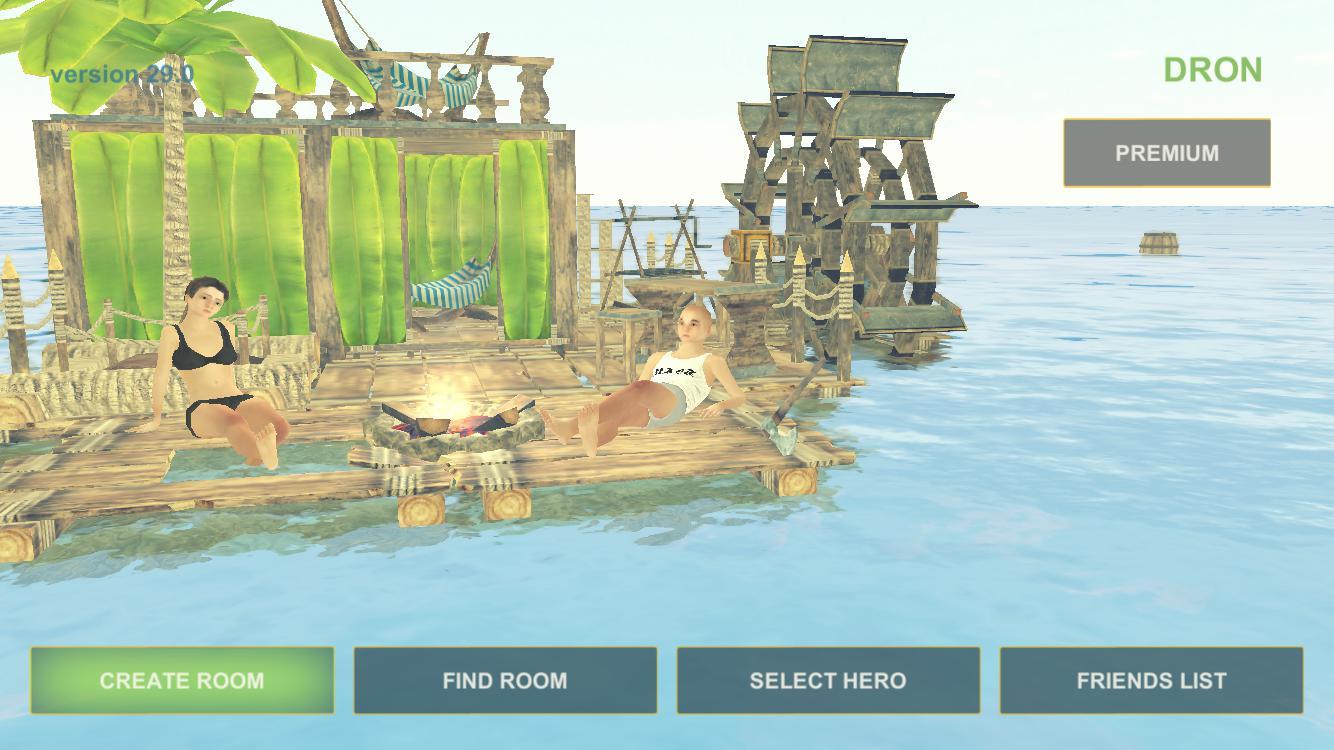筏生存:多人游戏(多人木筏求生) 游戏截图1