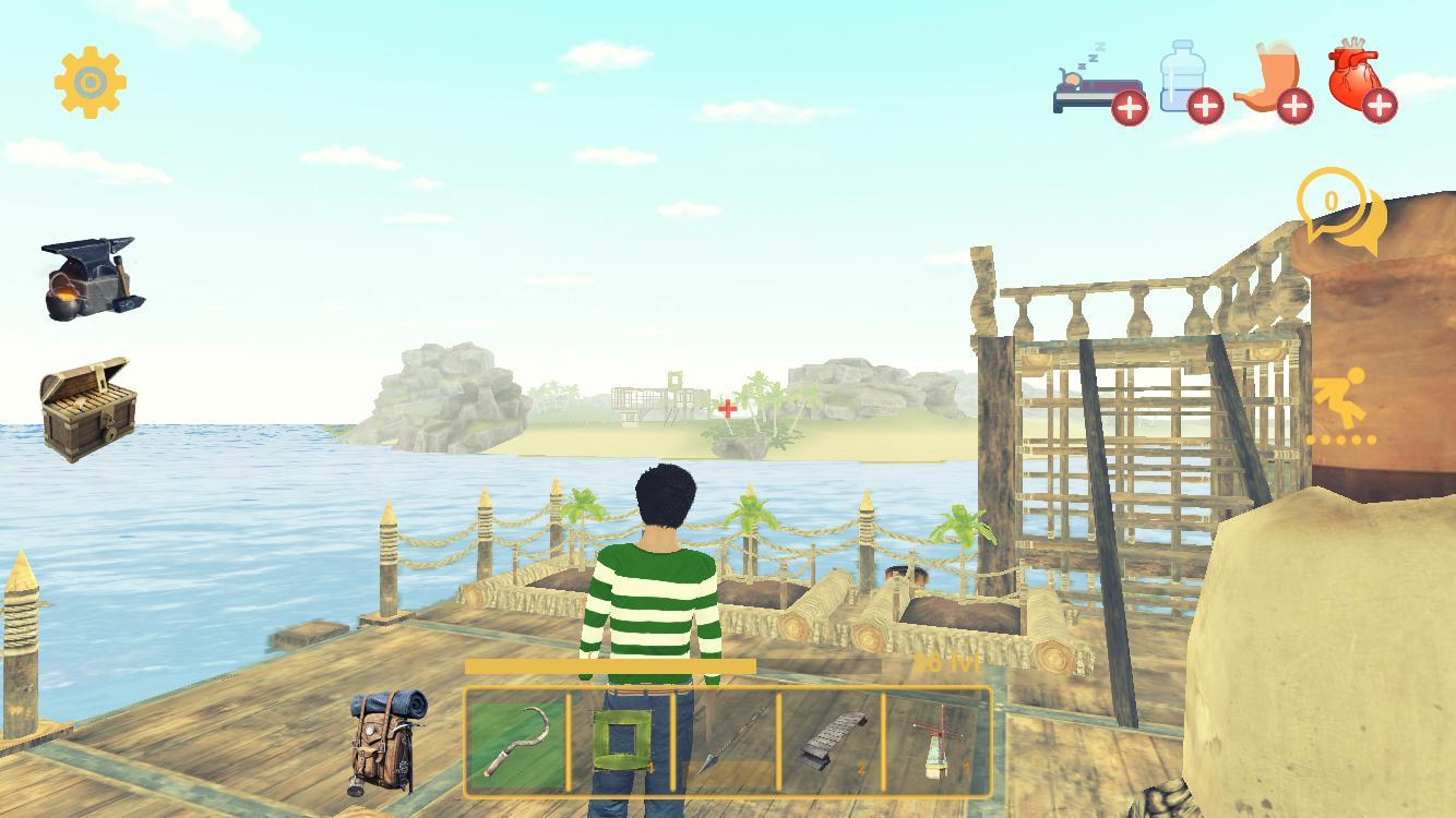 筏生存:多人游戏(多人木筏求生) 游戏截图3