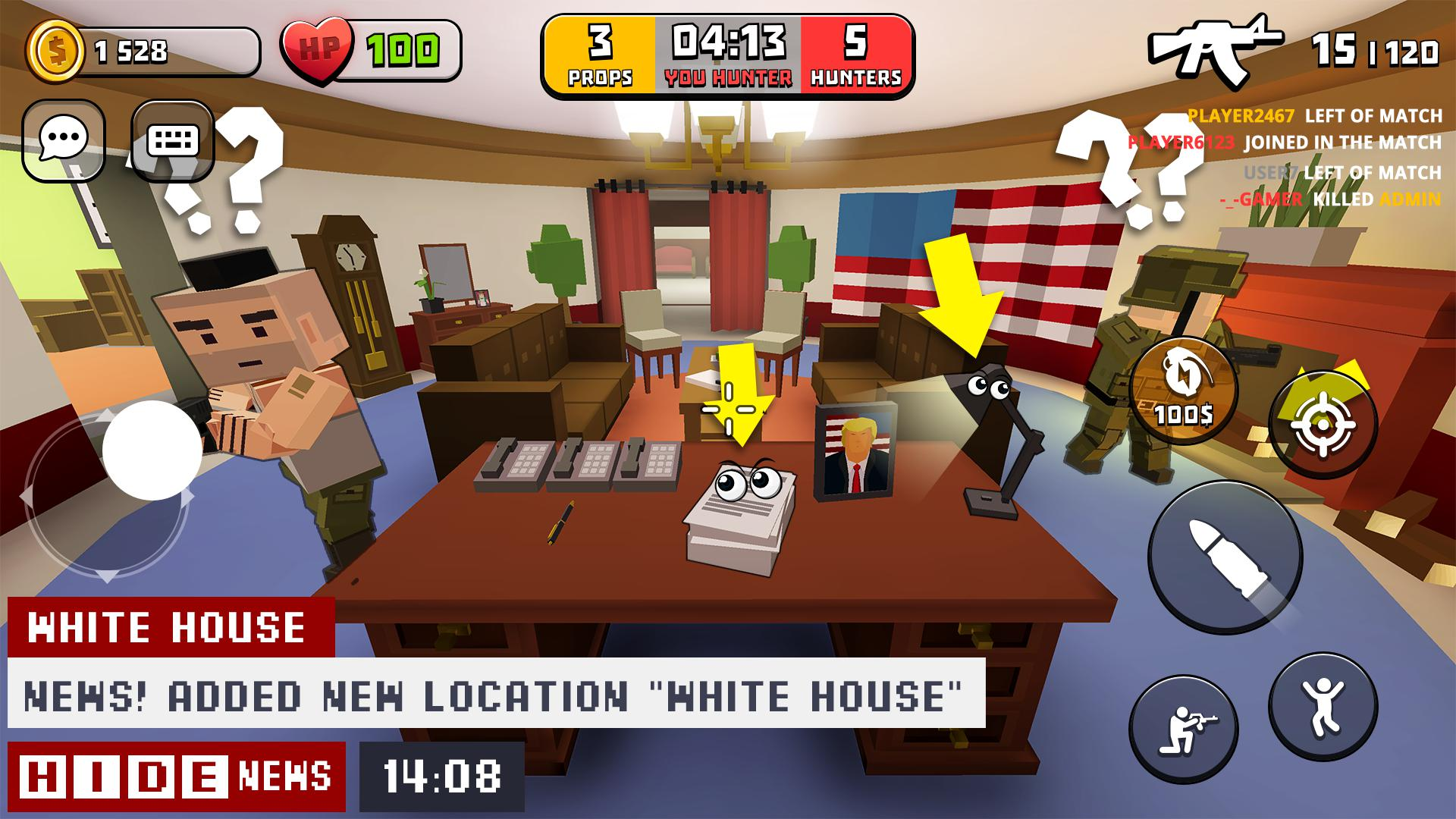H.I.D.E. 游戏截图2