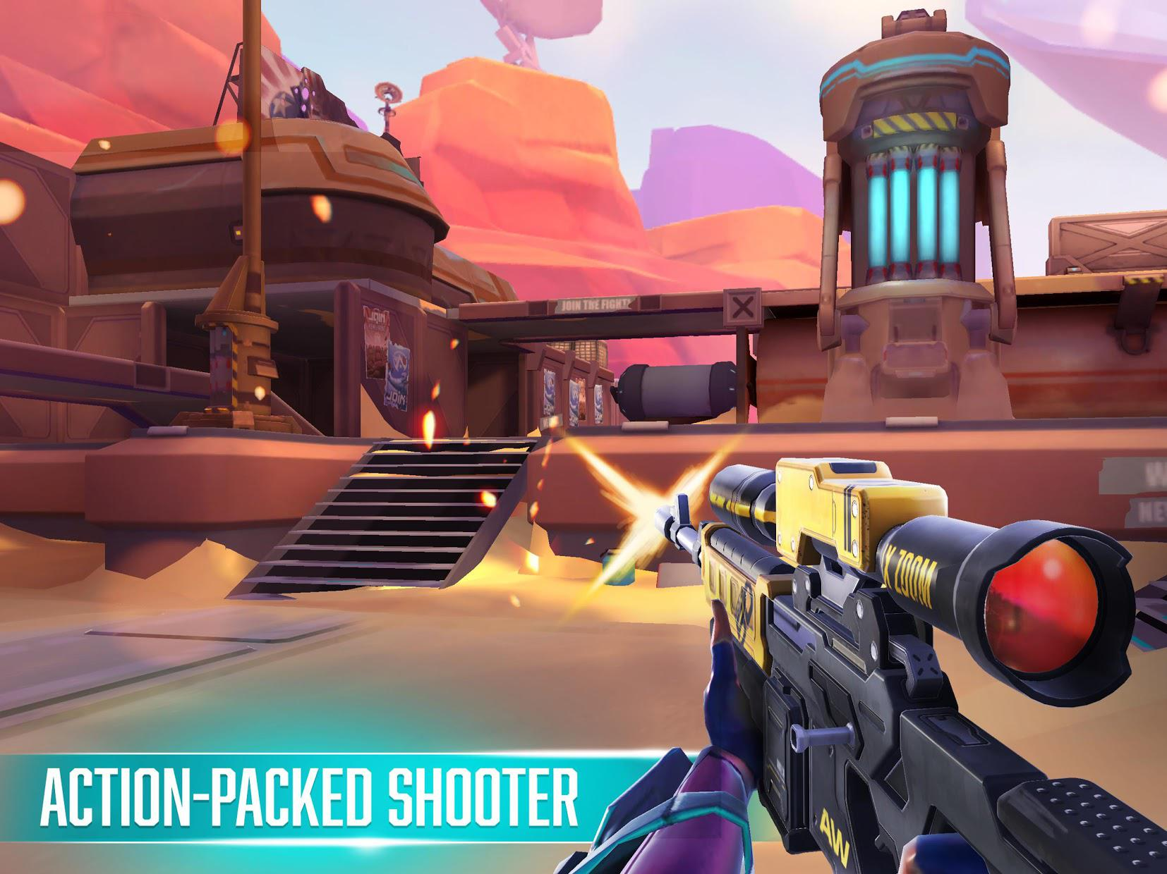 Rise: Shooter Arena 游戏截图1