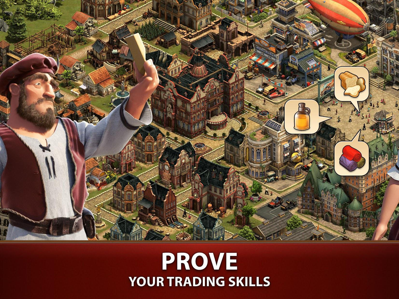 Forge of Empires 游戏截图4
