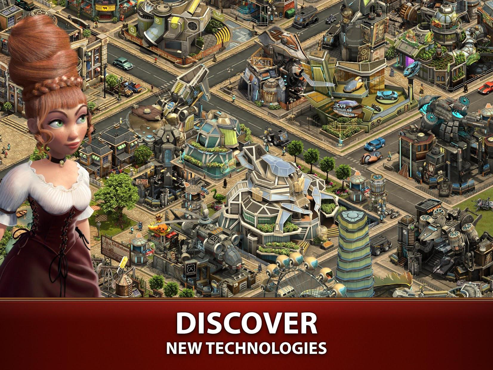 Forge of Empires 游戏截图5