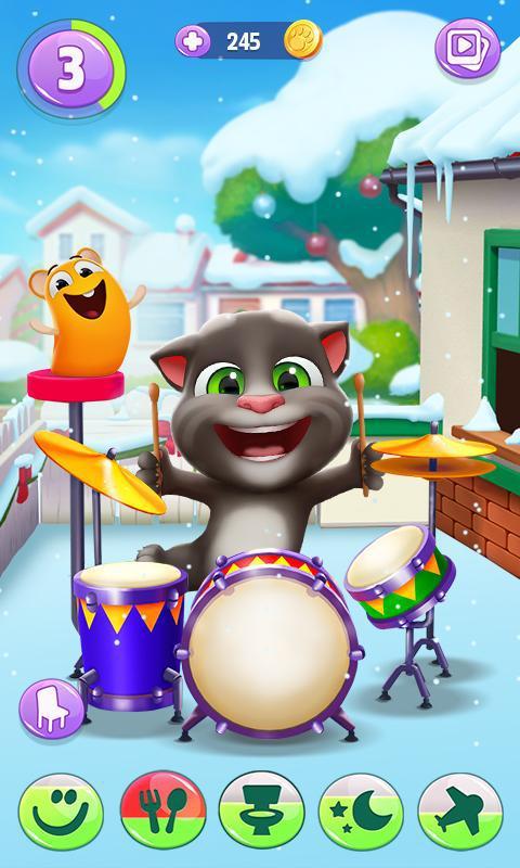 我的汤姆猫 2 游戏截图1