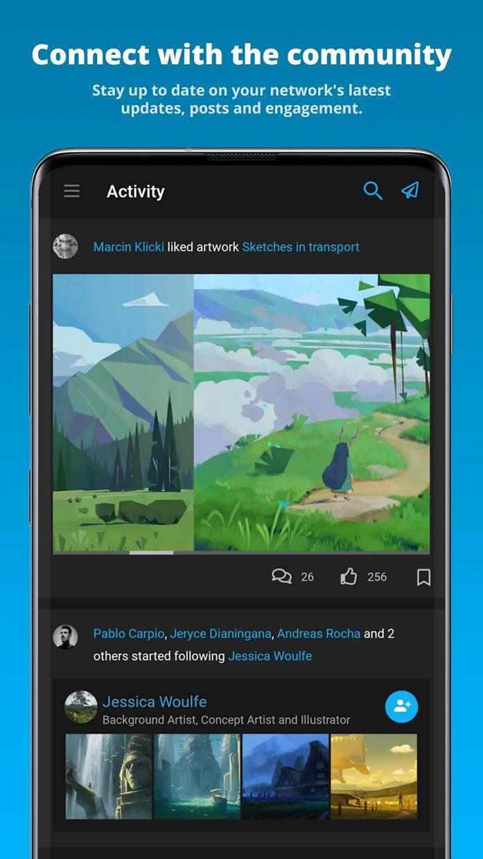 ArtStation 游戏截图1