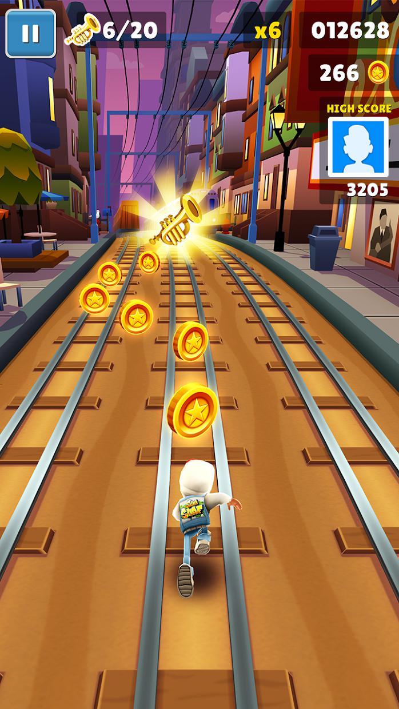 地铁跑酷 游戏截图2