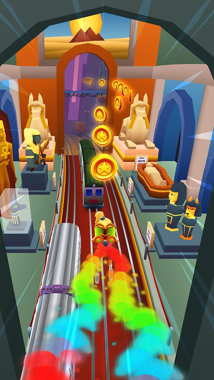 地铁跑酷 游戏截图4