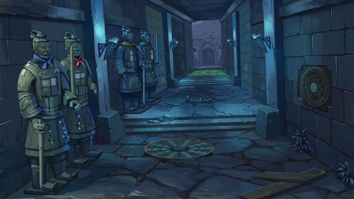 兵马俑之谜 - 密室类古墓寻宝游戏 游戏截图3