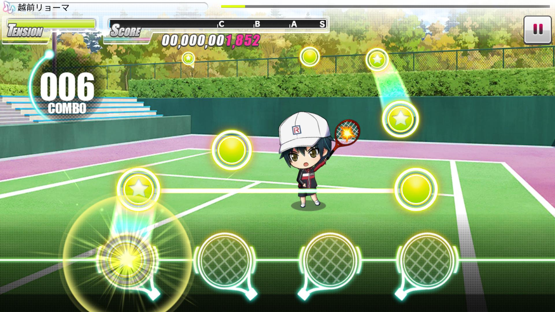 新网球王子 RisingBeat(日服) 游戏截图5