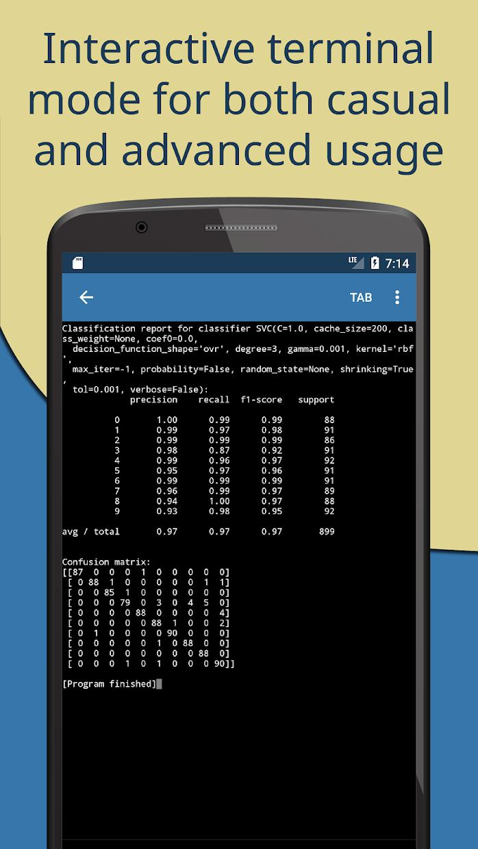 Pydroid 3 - IDE for Python 3 游戏截图2
