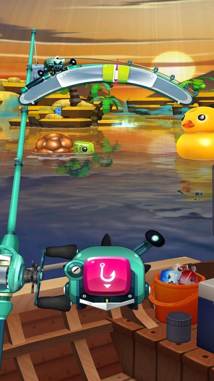 Fishing Cube 游戏截图4
