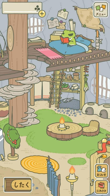 旅行青蛙 游戏截图1