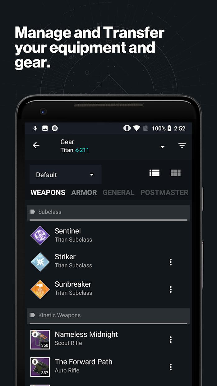 《天命2》同伴应用程式 游戏截图2