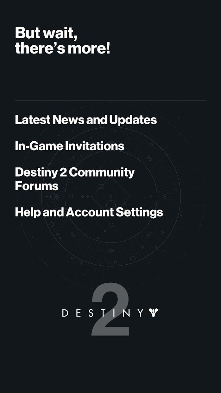 《天命2》同伴应用程式 游戏截图5
