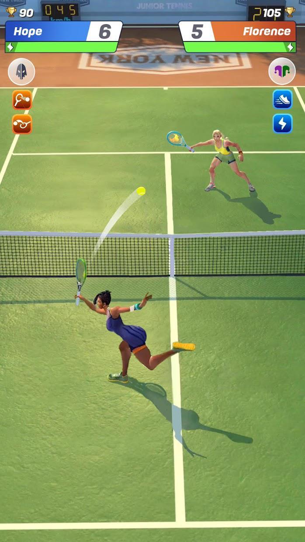网球传奇:3D 运动 - 免费多人游戏 游戏截图3