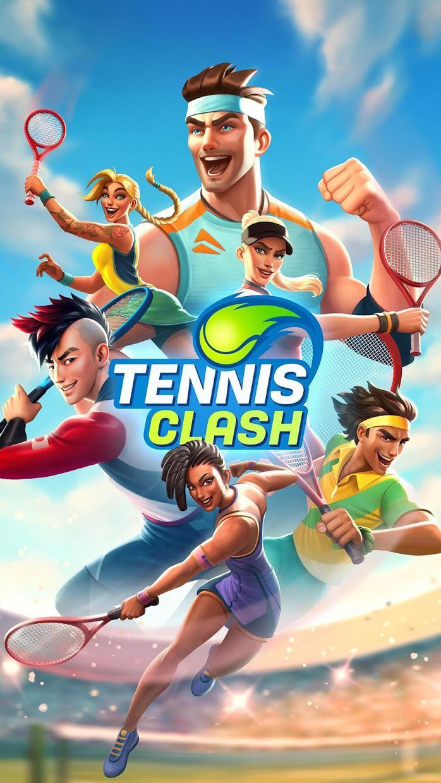 网球传奇:3D 运动 - 免费多人游戏 游戏截图5