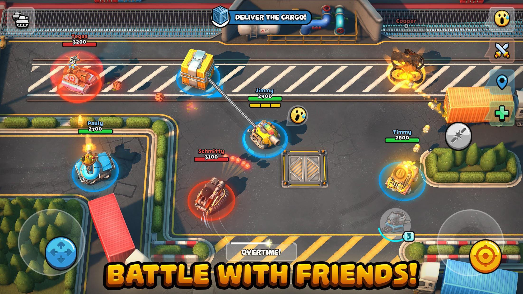 Pico Tanks: Multiplayer Mayhem 游戏截图1