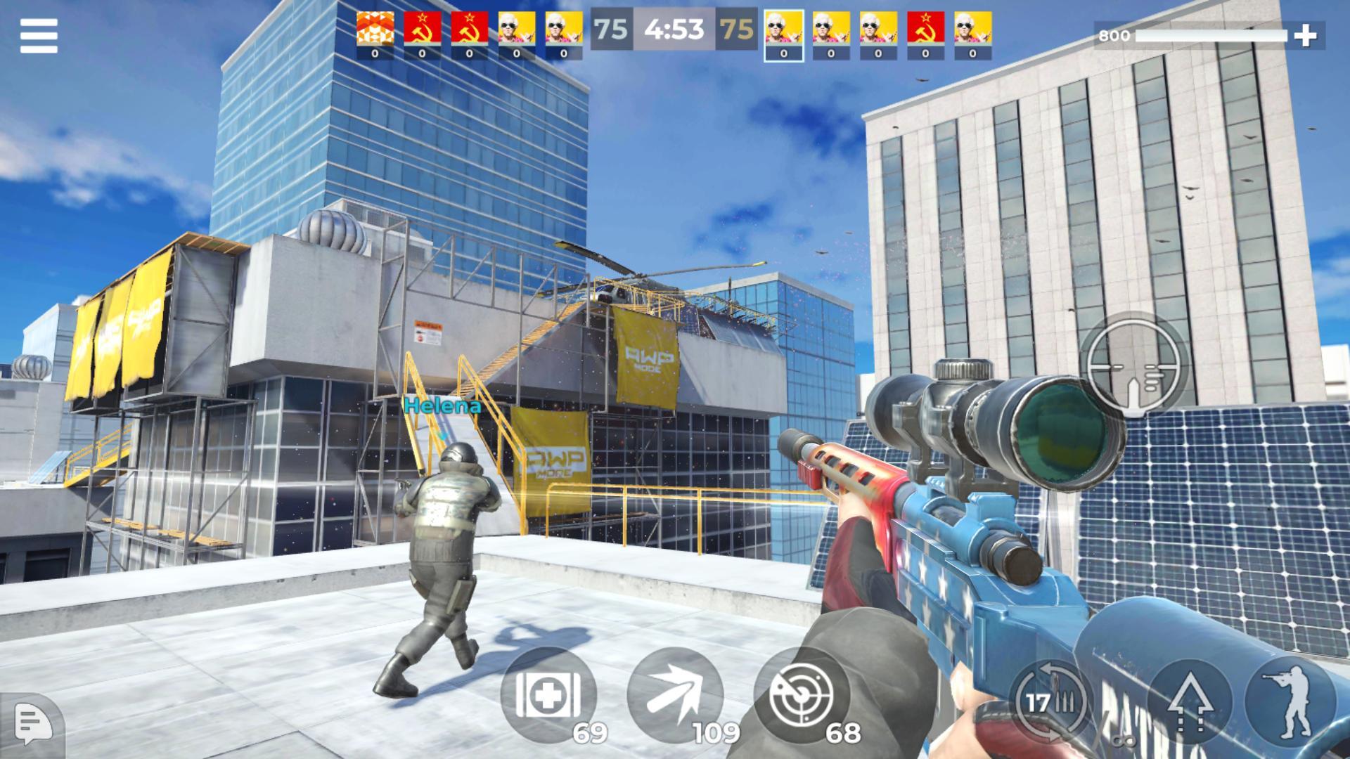 《AWP 模式》:精英级在线 3D 狙击动作游戏 游戏截图1