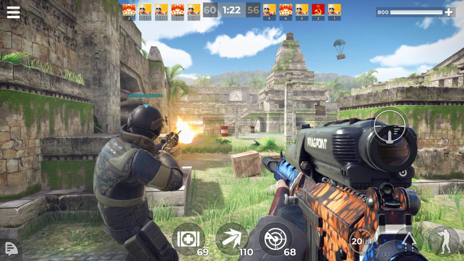 《AWP 模式》:精英级在线 3D 狙击动作游戏 游戏截图2