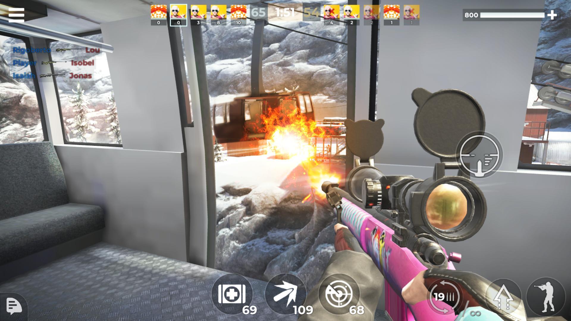 《AWP 模式》:精英级在线 3D 狙击动作游戏 游戏截图5