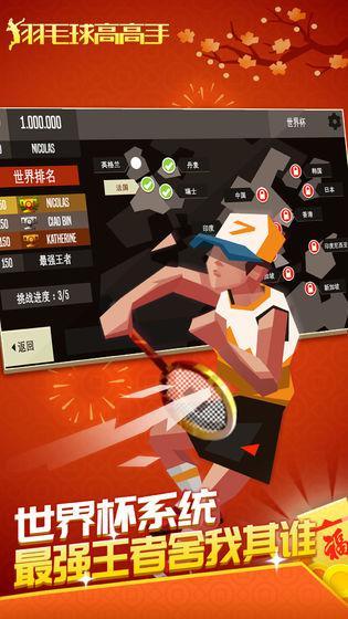 羽毛球高高手 游戏截图3