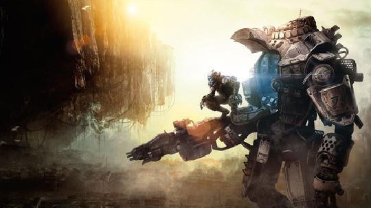 战斗泰坦飞行机器人