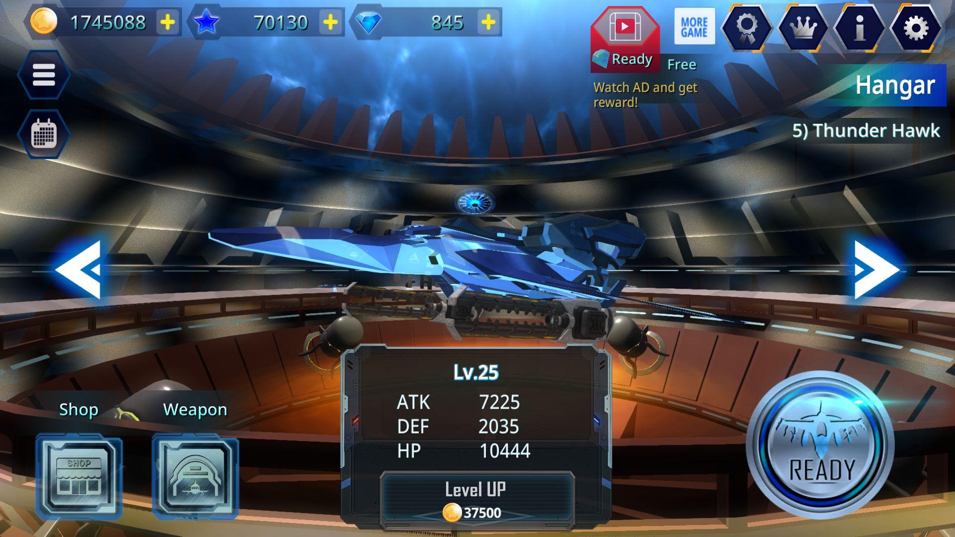 Galaxy Airforce War 游戏截图1