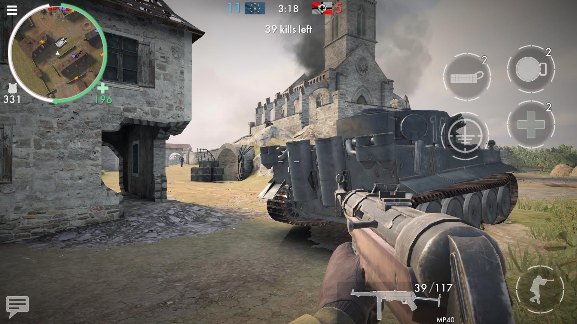 世界战争 - 英雄 游戏截图4