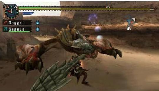 怪物猎人2g骑士