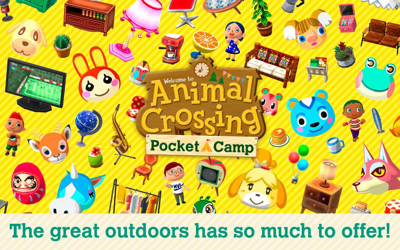 动物之森 口袋露营 游戏截图1